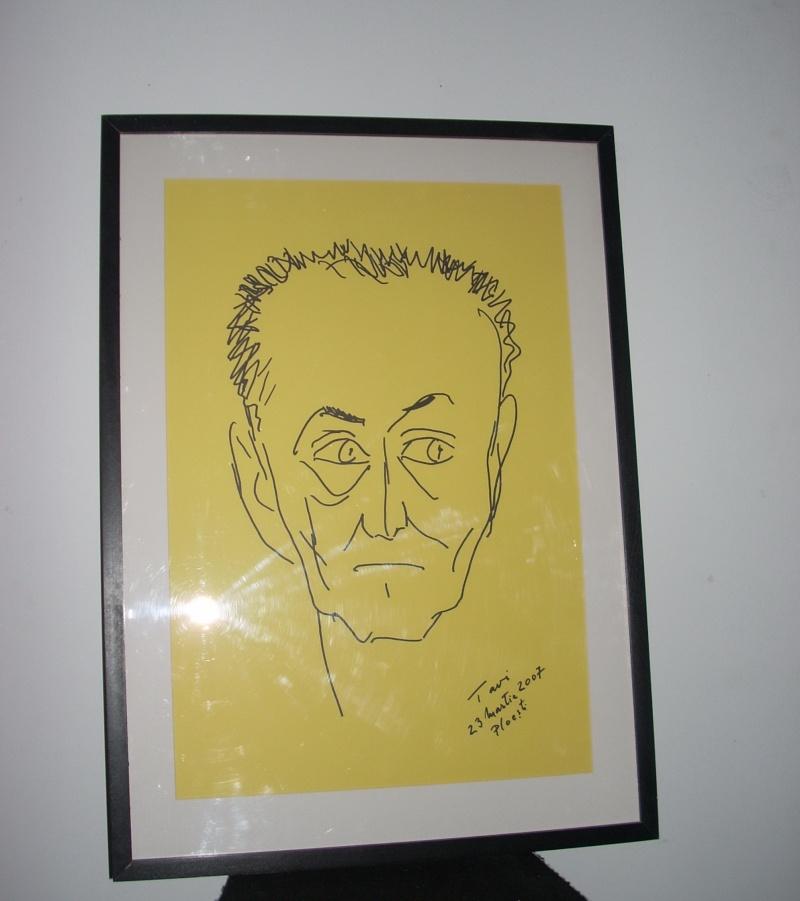 """Vernisaj expozitie """"Scriitori moldoveni"""" – portrete în tuş de Octavian Onea.  Vernis45"""