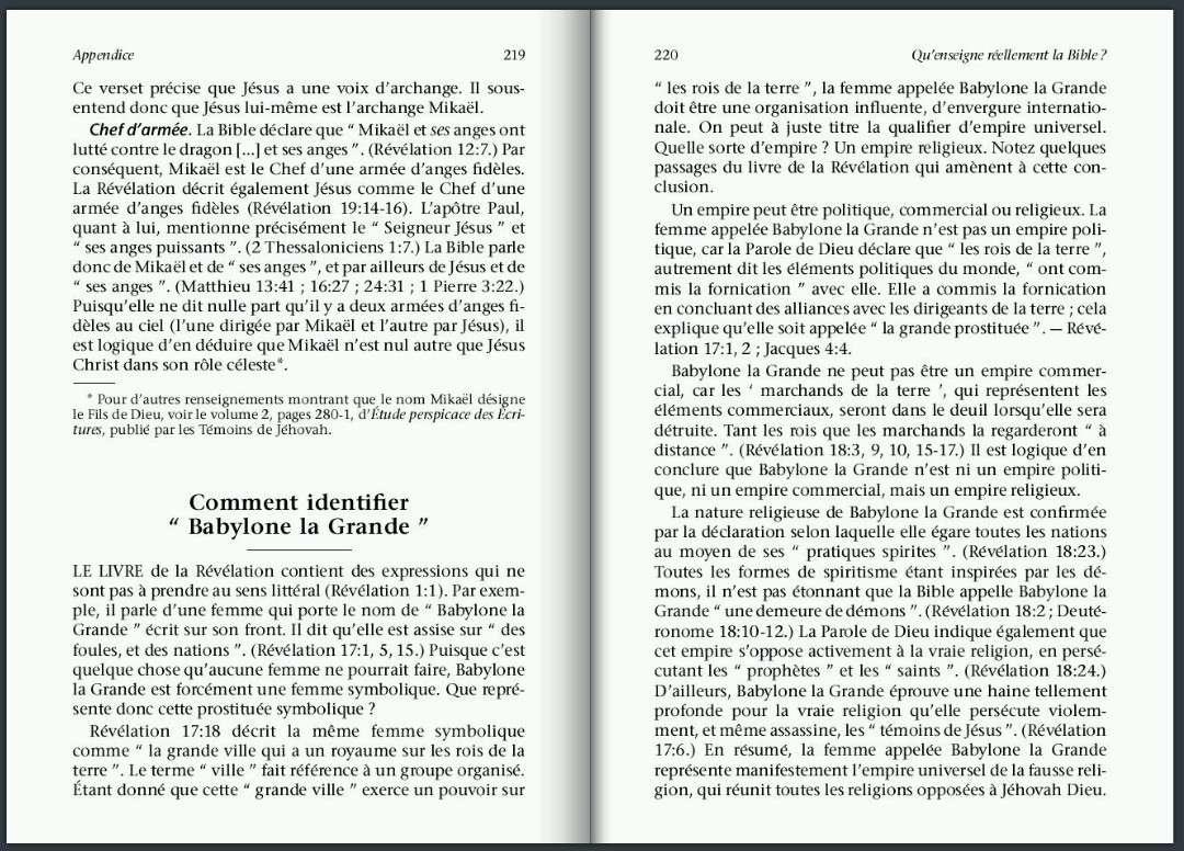 BABYLONE LA GRANDE IL FAUT EN SORTIR ! P21910