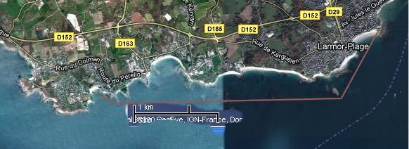 Downwind en pays de Lorient Perell10