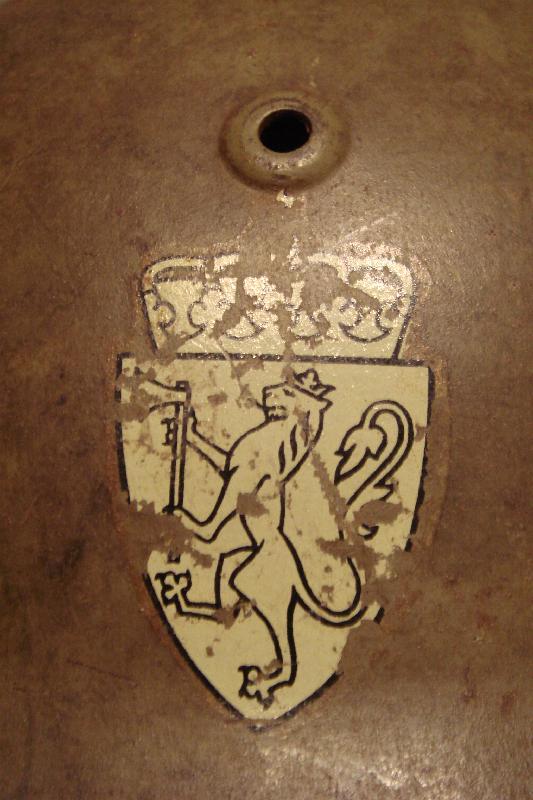 Casque Allemand M°35 Norvégien Dsc06410