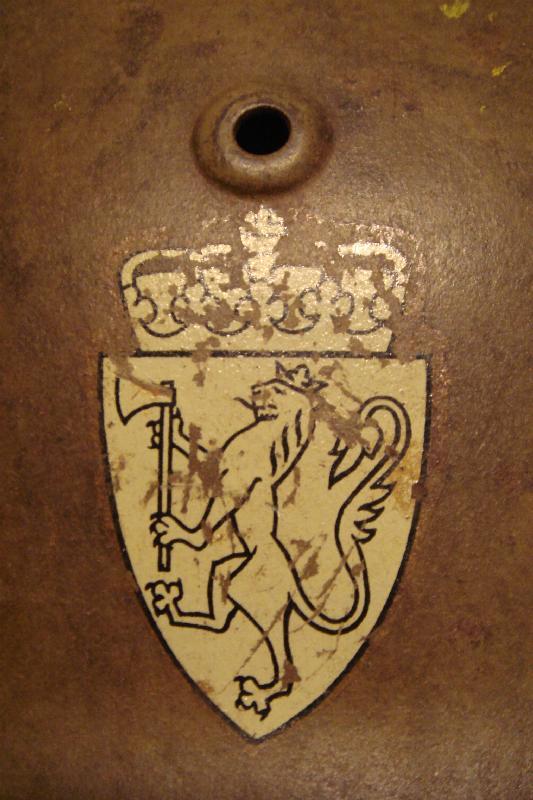 Casque Allemand M°35 Norvégien Dsc06412