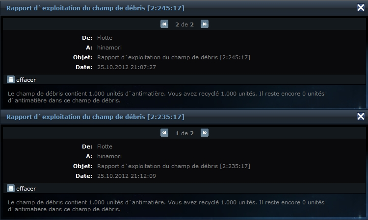 concours (4) Anniversaire Ogame   Record16