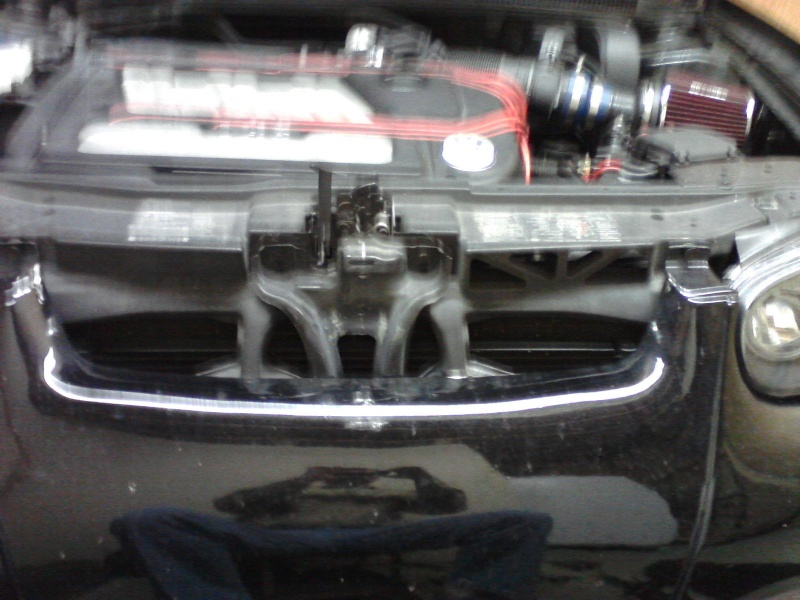 B5.5 Grill install on a MK4 w/EuroWise Front bumper - How to... 05111211