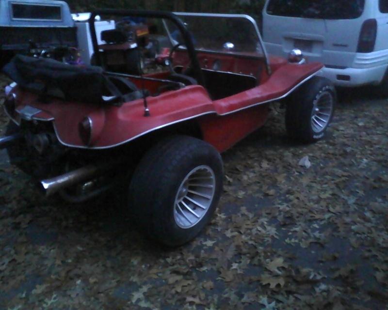 70's fiberglass buggy..  12102510