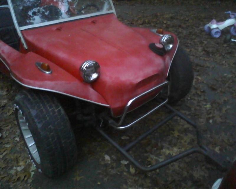 70's fiberglass buggy..  12102511