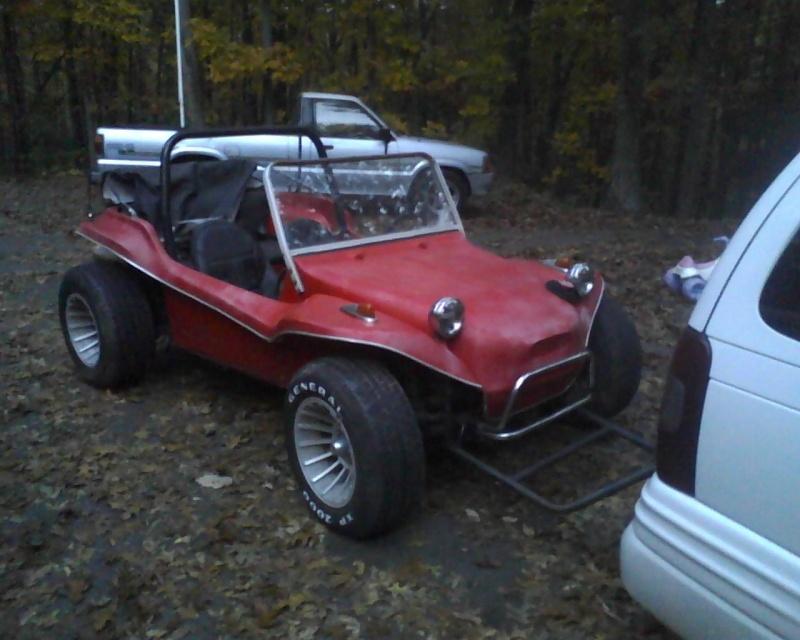 70's fiberglass buggy..  12102512