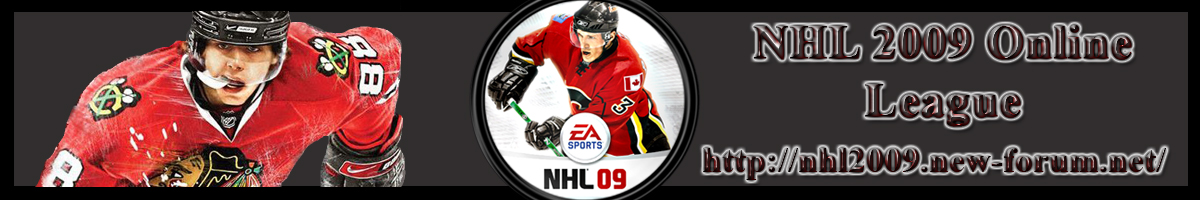 NHL 2009 Online League