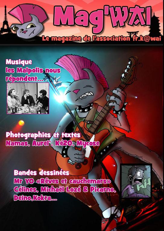 Vente du Mag'wai - le magazine de l'association FR.K@wai Mag110