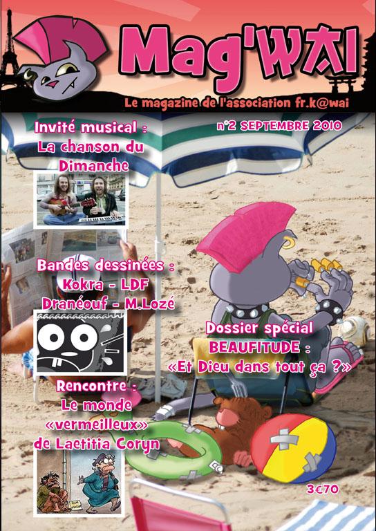 Vente du Mag'wai - le magazine de l'association FR.K@wai Mag210