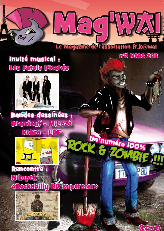 Vente du Mag'wai - le magazine de l'association FR.K@wai Mag310