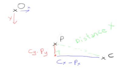 [NUKE] particules par rapport a la camera Pythag10