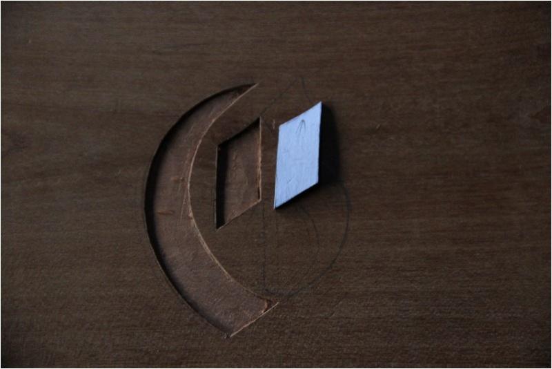 Insertion d'un monogramme dans une traverse basse  Img_0120