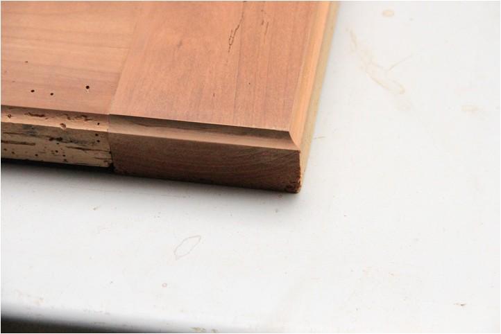 Confiturier : la porte, moulure et réparation Img_1924