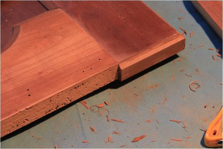 Confiturier : la porte, moulure et réparation Img_2011