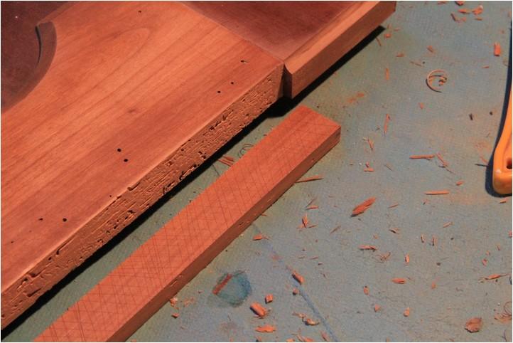 Confiturier : la porte, moulure et réparation Img_2013