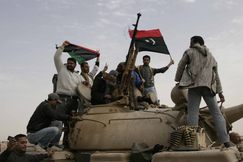T-59/ T-54 Tank [Trumpeter; 1/72]: un tank pour Benghazi ! FINI!! 55324110