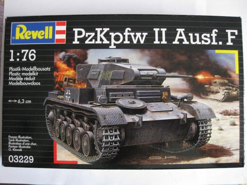 PzKpfw II Ausf.F [ Revell; 1/76]: En route pour la Lybie ! FINI Photo211