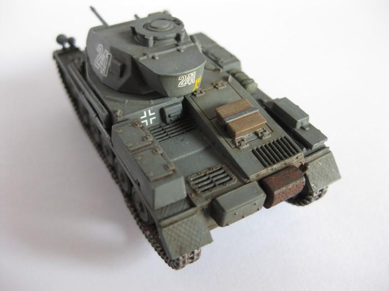 PzKpfw II Ausf.F [ Revell; 1/76]: En route pour la Lybie ! FINI Photo263