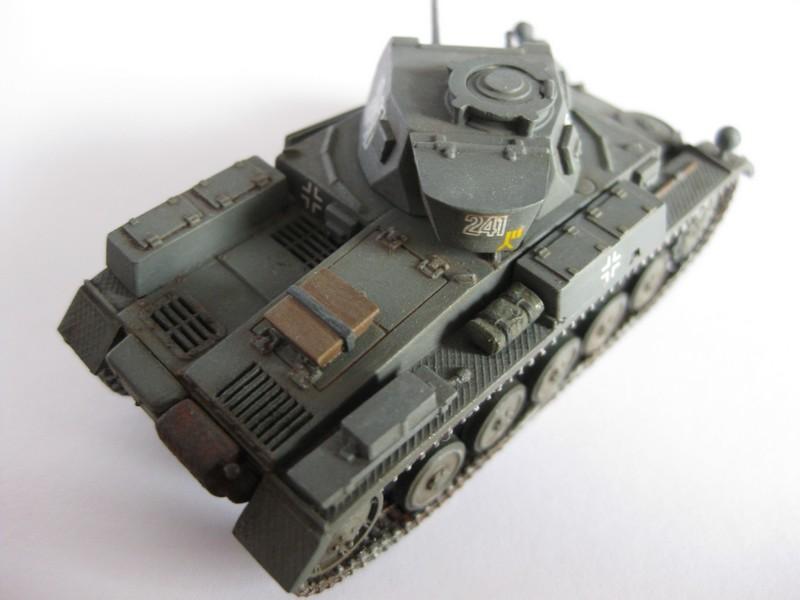 PzKpfw II Ausf.F [ Revell; 1/76]: En route pour la Lybie ! FINI Photo264