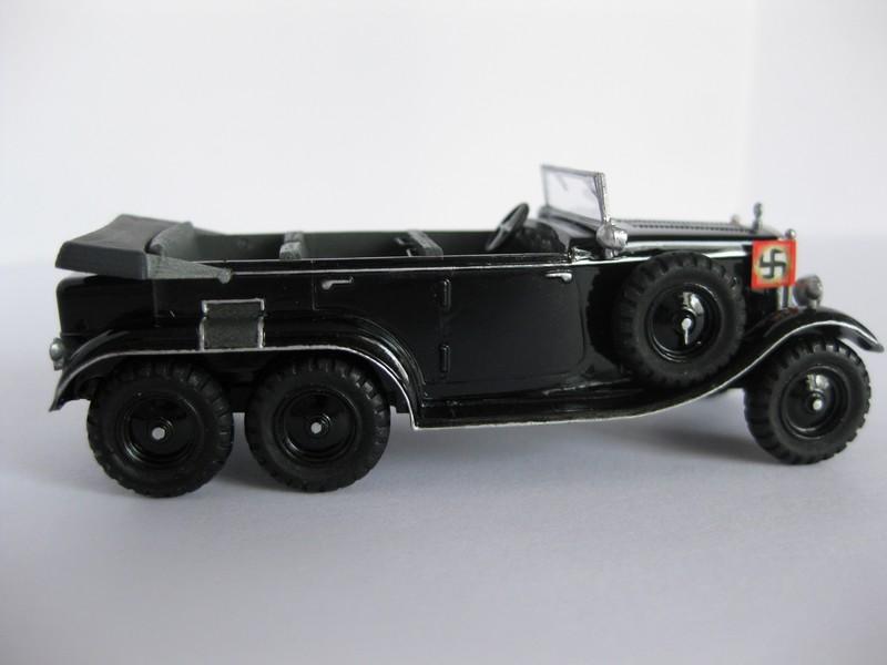 Mercedes Benz G4/W31 [ Hasegawa ; 1/72]:Le Diable roule en Mercedes FINI!!! Photo302