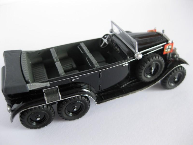 Mercedes Benz G4/W31 [ Hasegawa ; 1/72]:Le Diable roule en Mercedes FINI!!! Photo307