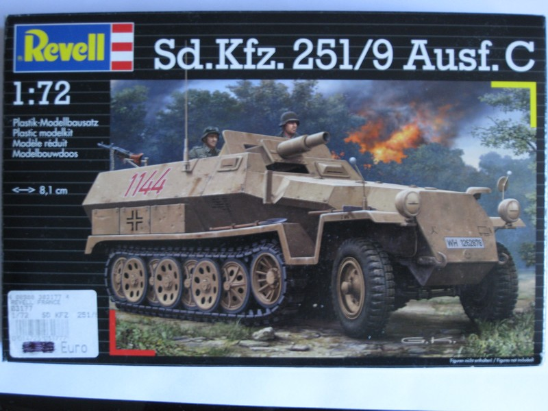 Sd.Kfz.251/9 Ausf. C [Revell; 1/72]: Opréations Anton et Lila Photo351