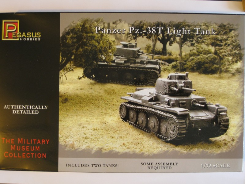 Panzer 38(T) [Pegasus Hobbies, 1/72] Photo354