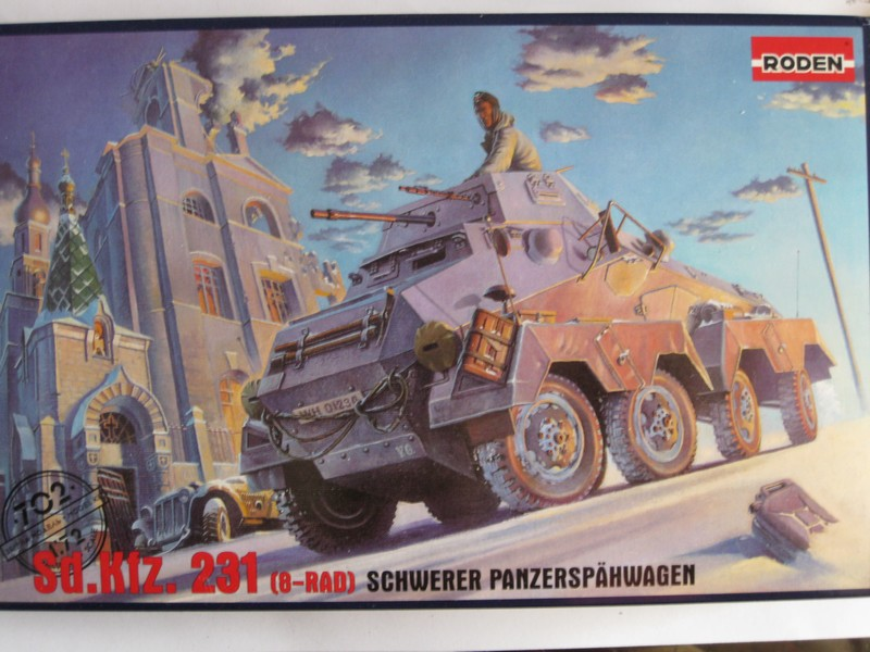 Sd.Kfz.231 (8-rad) [Roden; 1/72] Photo355
