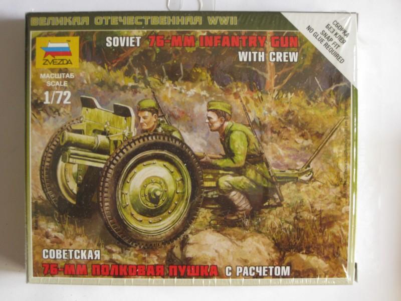 Soviet 76mm Infantry Gun [Zvezda ; 1/72] Photo357