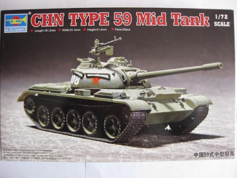 T-59/ T-54 Tank [Trumpeter; 1/72]: un tank pour Benghazi ! FINI!! Photo_20
