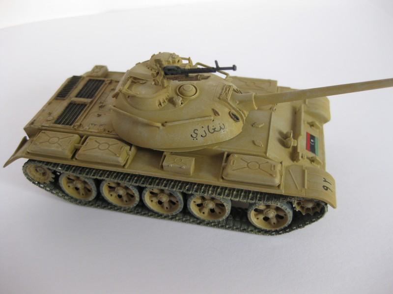 T-59/ T-54 Tank [Trumpeter; 1/72]: un tank pour Benghazi ! FINI!! Photo_86