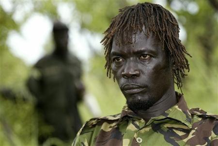 Un adjoint de Joseph Kony capturé en Centrafrique 2012-010