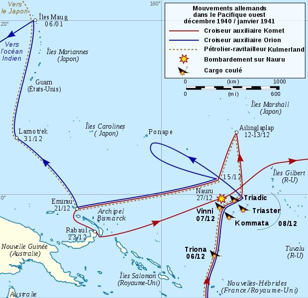 en 1940 Attaques allemandes sur Nauru ( australie ! ) 619px-10