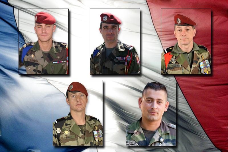 -13 juillet 2011 -Cinq soldats français tués en Afghanistan de la brigade la fayette -69° morts en Afghanistan Afghan10