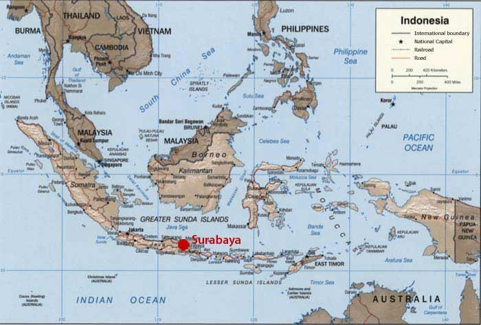 Bataille de Surabay à la fin octobre 1945 ( indonesie ) Suraba10