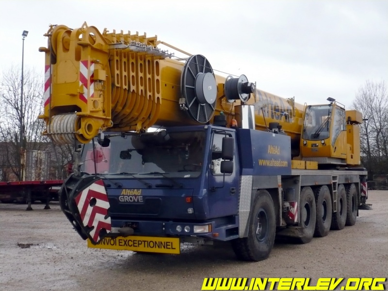 Les grues de ALTEAD (Groupe AlteAd) (France) Altead12