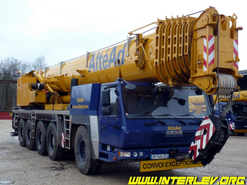 Les grues de ALTEAD (Groupe AlteAd) (France) Altead13