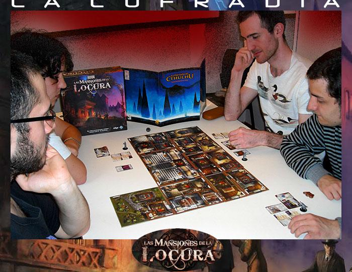 Partida LAS MANSIONES DE LA LOCURA 27 de Octubre Locura12
