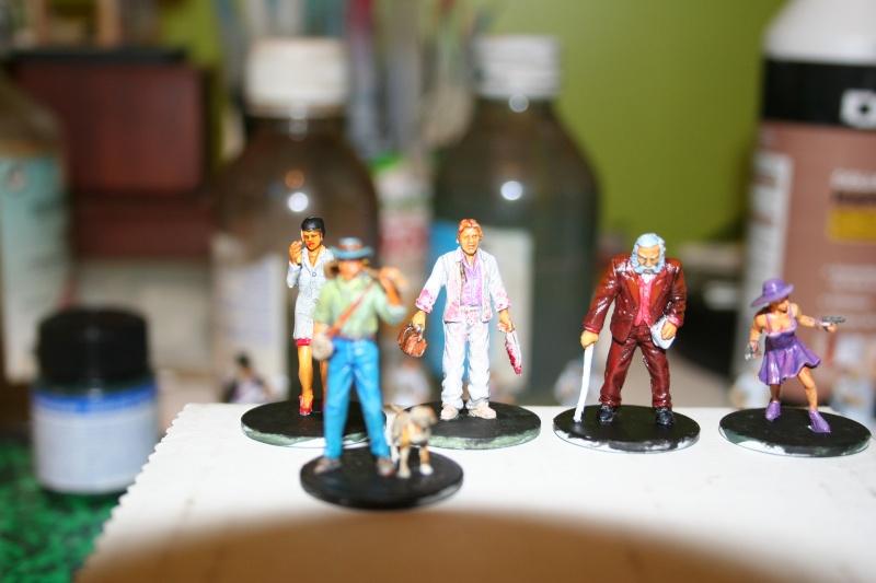 Peintures sur figurines de jeux de plateaux  00916