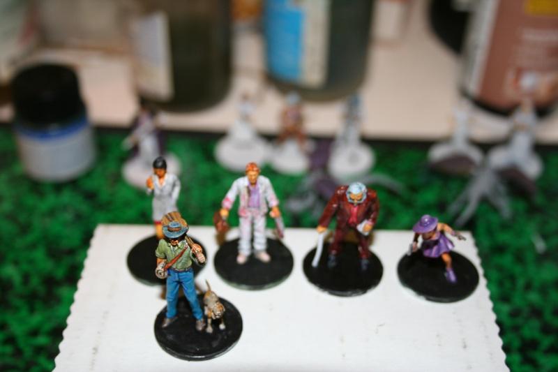 Peintures sur figurines de jeux de plateaux  01113