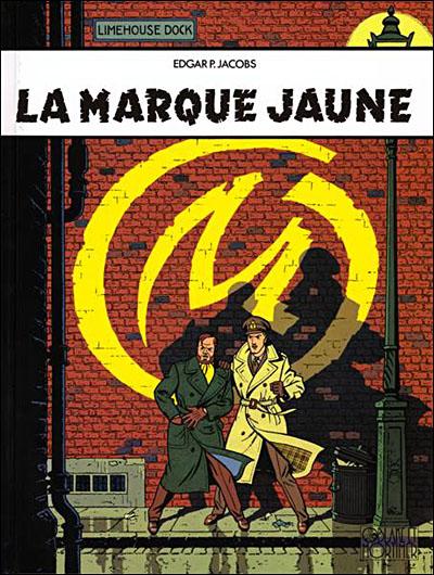 Blake et Mortimer - Tome 3: La marque jaune [Jacobs, Edgar P.] La-mar10