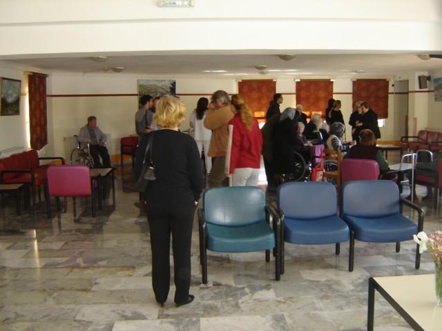 Επίσκεψη μελών και φίλων του Συλλόγου στο Γηροκομείο Νεάπολης. Dsc04021