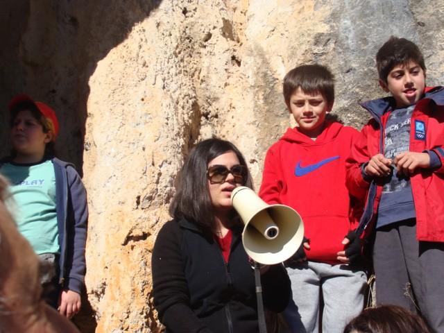 Κοπή πίτας Συλλόγου στο σπήλαιο Αγίας Αικατερίνης. Dsc07116