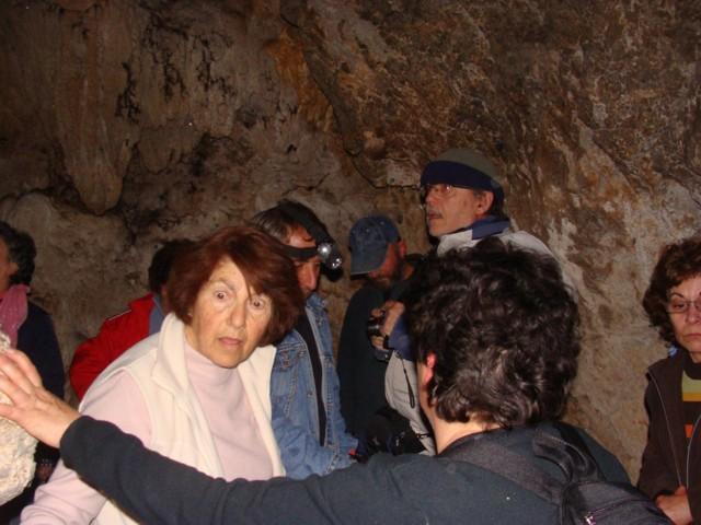 Κοπή πίτας Συλλόγου στο σπήλαιο Αγίας Αικατερίνης. Dsc07118
