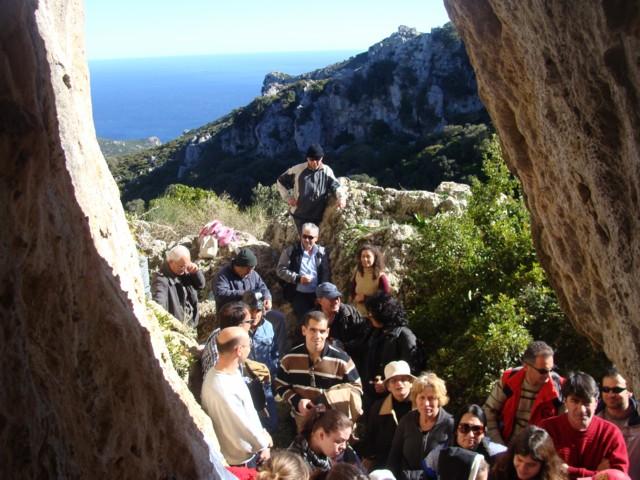 Κοπή πίτας Συλλόγου στο σπήλαιο Αγίας Αικατερίνης. Dsc07119