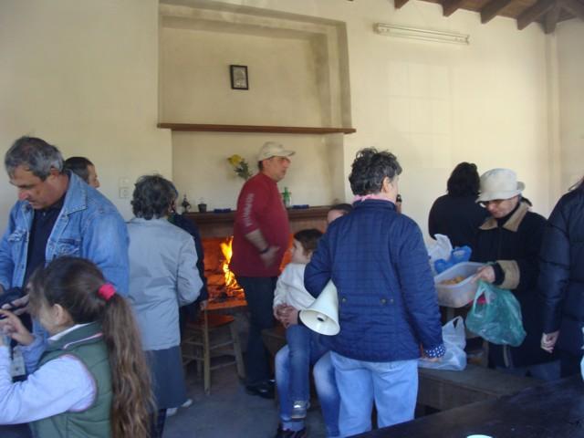 Κοπή πίτας Συλλόγου στο σπήλαιο Αγίας Αικατερίνης. Dsc07120