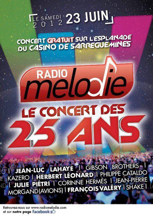 les 25 ans de Radio Mélodie, le 23 juin à Sarreguemines..... 11777_10