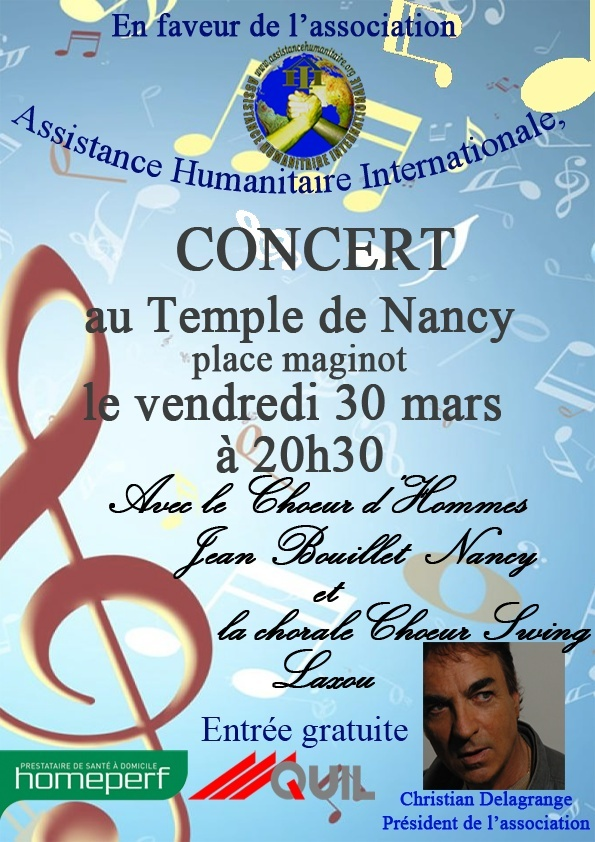 concert en faveur de l'association Assistance Humanitaire Internationale Affich11