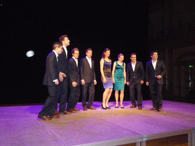 voces8 au Zénith pour le concert d'ouverture du festival Nancy voix du monde Imgp2219