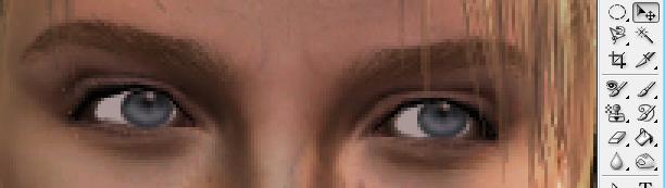 [Photoshop] Changer l'orientation du regard 3-010